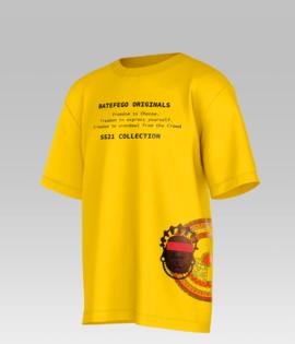 Batefego Royalty Men Streetwear Shirt